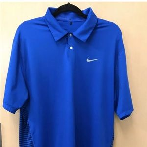 Nike Tiger Woods Engineered Polo Duke Blue Devils